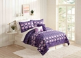 MaryJanes Home 5-Piece Violet Island Dreams Quilt Set