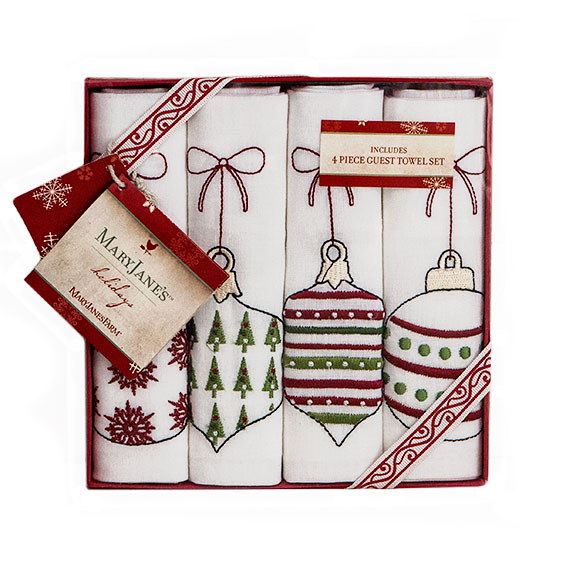 Maryjane S Home Holiday Guest Towel Gift Sets