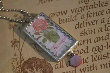 Front of the Farmgirl Sisterhood Necklace