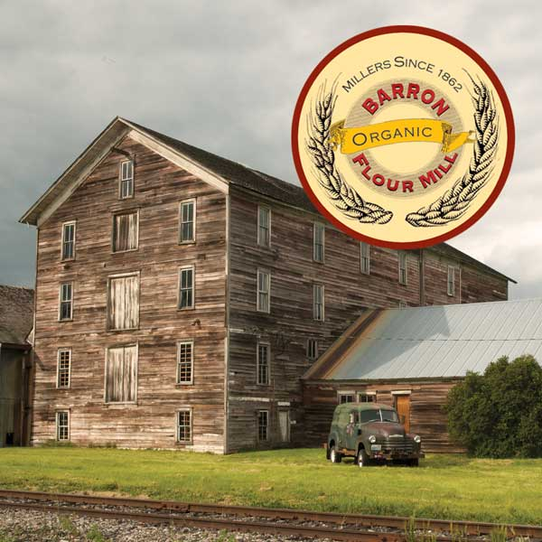 Historic Barron Flour Mill in Oakesdale, Washington