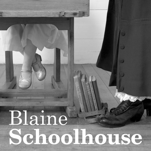 Historic Blaine Schoolhouse in Idaho