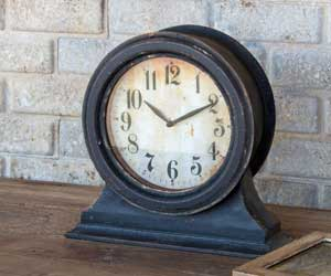 Black Mantel Clock, Small