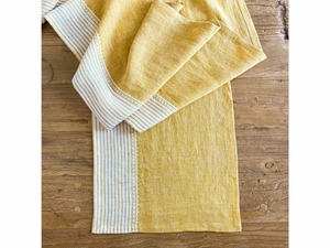 Linen Kitchen Table Runner