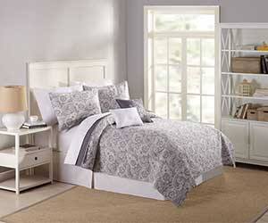 MaryJanes Home 5-Piece Sabel Quilt Set (Twin Only)