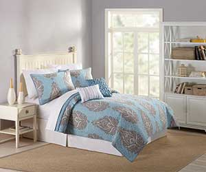 MaryJanes Home 5-Piece Sarita Quilt Set (Twin only)