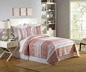 MaryJanes Home Bright Blooms Quilt