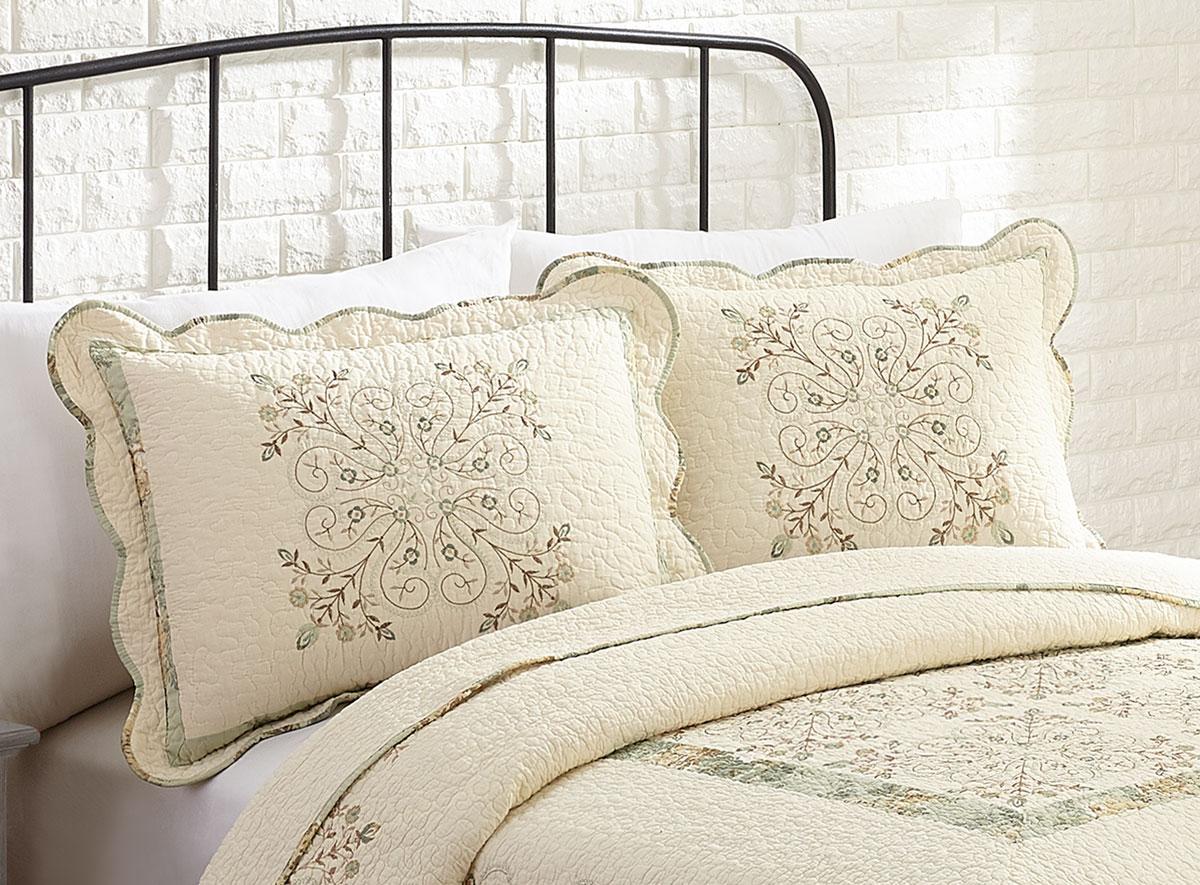Maryjane S Home Vintage Treasure Quilt Pillow Sham