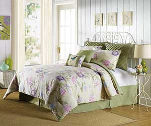 MaryJanesFarm® 8-Piece Blooming Tree Comforter Set (King only)