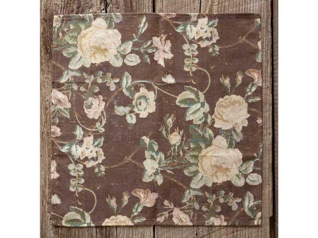 Vintage Rose Cloth Napkin