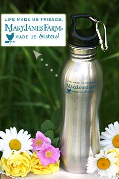 Stainless Steel Water Bottle with Logo displayed