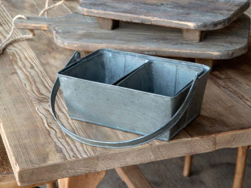 Nested Tinwork Berry Baskets